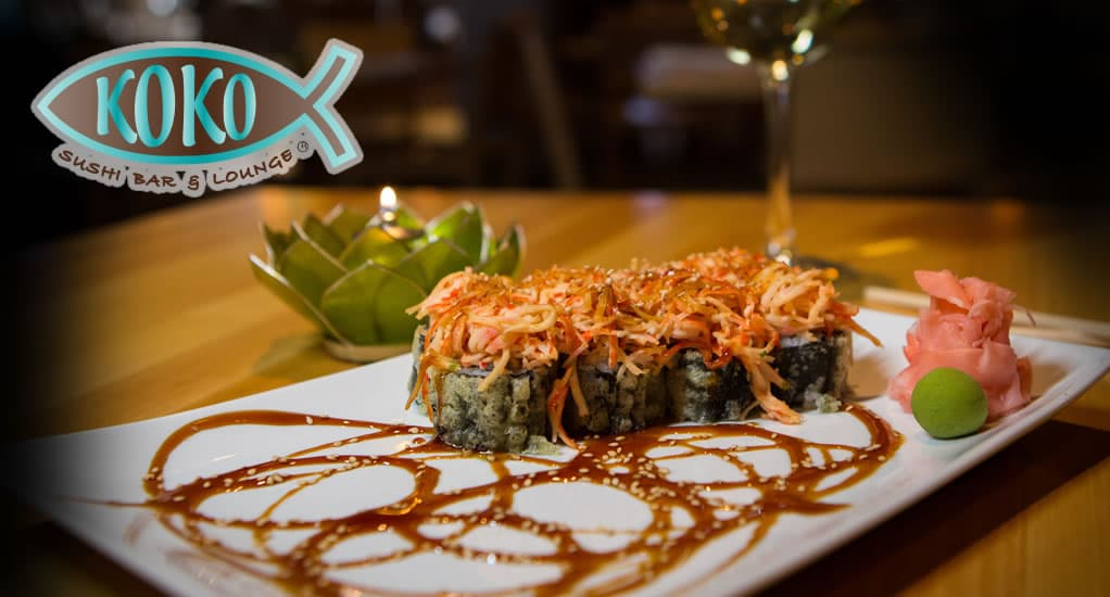 Enjoy our Signature Sushi Menu